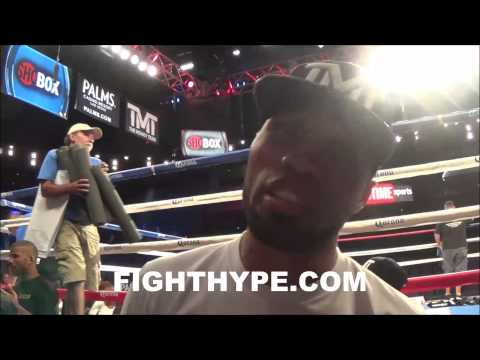 ISHE SMITH PREDICTS FLOYD MAYWEATHER WILL STOP MARCOS MAIDANA IN REMATCH