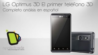 LG Optimus 3D El primer telfono 3D