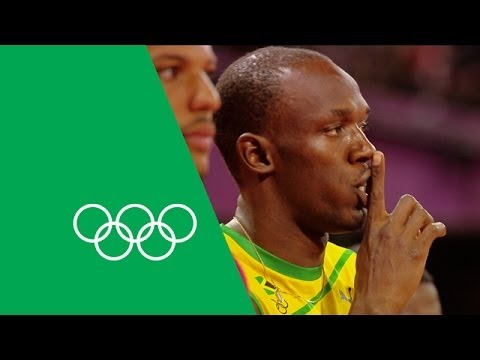 Usain Bolt Talks London 2012, 100m, 200m & Relay Gold | Olympic Rewind