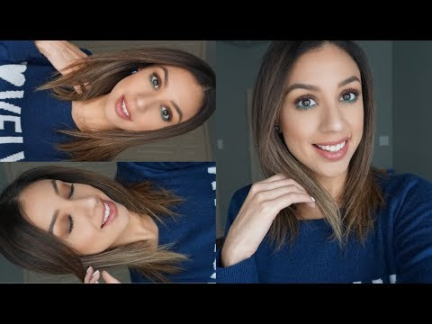Get Ready with Me | Pop of Color + How I fill in my brows!