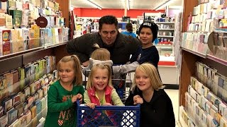 """5 KIDS AT TOYS """"R"""" US FOR THE FIRST TIME!"""