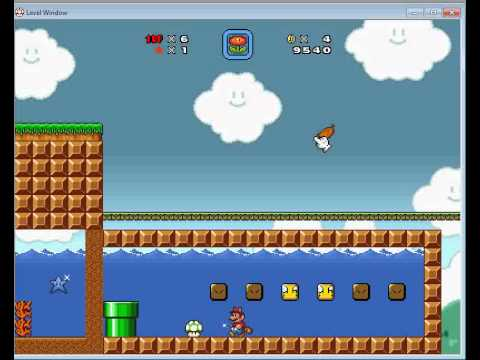 Super Mario Brothers X Level Editor Videos Part 1 - YouTube