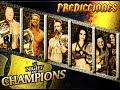 Predicciones WWE Night of Champions 2014 Loquendo (SL3000)