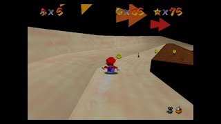 Lets Play: Super Mario 64 Part 21: THE MOUNTAINSLIDE