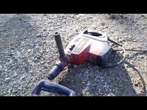 Makita VS. Hilti SDS MAX concrete drills
