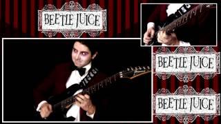 Beetlejuice Intro Theme Metal Guitar
