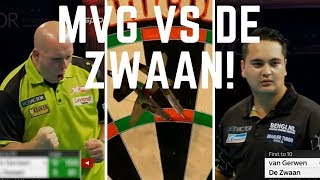 Michael van Gerwen (MVG) vs Jeffrey de Zwaan WORLD MATCHPLAY DARTS 2018 🎯! R1 Blackpool!