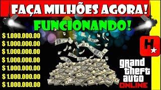 🔥GLITCH APÓS ATUALIZAÇÃO🔥 GTA 5 online – DINHEIRO INFINITO! FAÇA MILHÕES! EASY! (GTA V MONEY GLITCH)