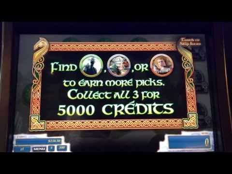 Lord of the Rings Return of the King Slot Machine Bonus - Fall of the Witch King