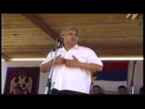 Наступ Данила Лазовића на Видовданској духовној академији у Сокоцу (28.06.1997.)