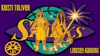 Lindsey Harding & Kristi Toliver (Sparks Backcourt)