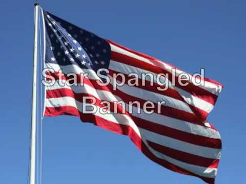 Star Spangled Banner Lyrics Vocals And Beautiful Photos video