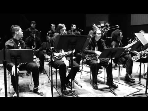 Los Medanos College Jazz Studio Band  'Caravan' May 14, 2014