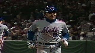 1986 WS Gm4: Gary Carter homers twice in Mets' win