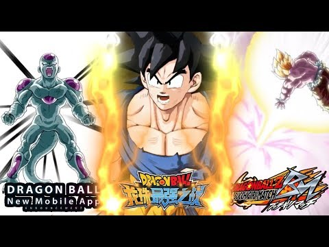 3 Brand New Dragon Ball Z Games Coming To Android/IOS In 2018