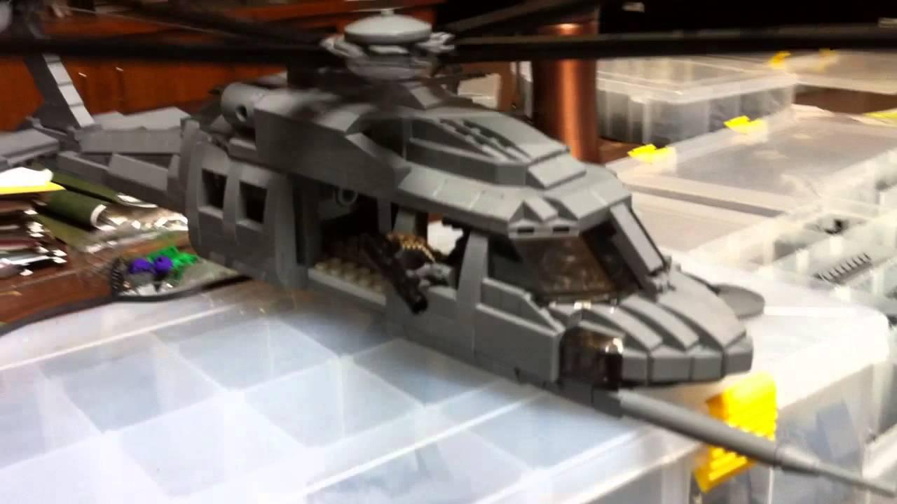 Motorized Stealth Black Hawk Demo Youtube