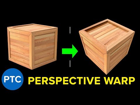 How to Change The Perspective of ANYTHING In Photoshop - Perspective Warp Guide