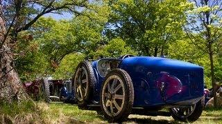 Pre-War Bugattis - Start-Ups & Hillclimb! (Type 30/35/37 - Brescia)