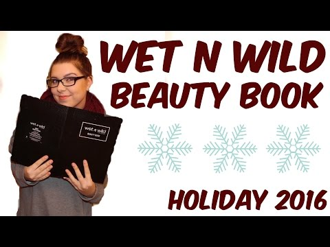 WET N WILD BEAUTY BOOK   Holiday 2016