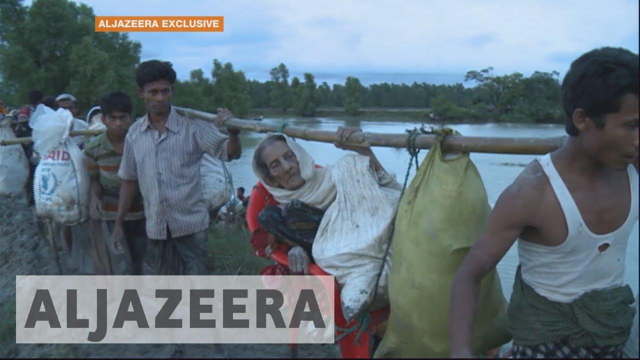 Myanmar exodus: Rohingya flee to Bangladesh