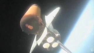 Blast into Space, Spectacular Fall to Earth