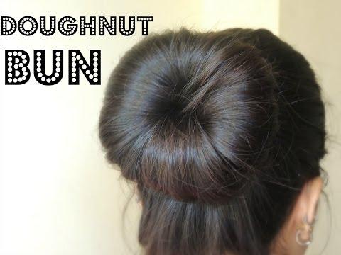 How to Make a Bun Using a Hair Doughnut