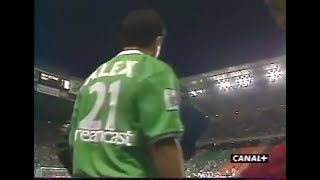 ASSE 2-1 Nancy - 4e journée de D1 1999-2000