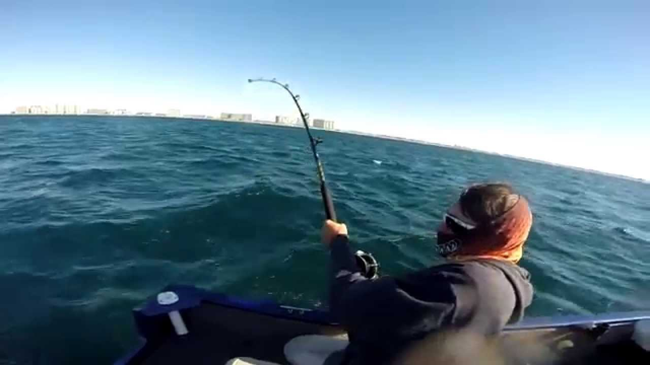 Florida fishing in the gulf october 2014 gopro youtube for Out of state fishing license florida