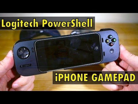 iPhone Gamepad - Logitech Powershell Review