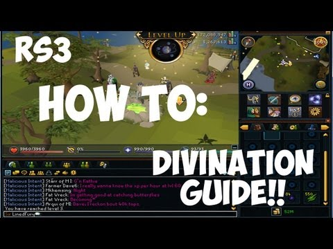 Runescape 3 | How to: Divination Guide w/ Commentary 2013 | LinedFury