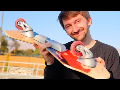 AARON KYRO TRIES 5 CASTERBOARD TRICKS HE HAS NEVER DONE BEFORE