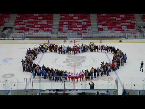 Флешмоб в поддержку олимпийской сборной России!