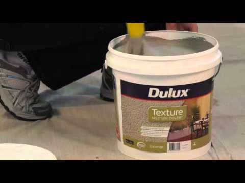 Dulux texture render refresh medium cover youtube - How to paint rendered exterior walls decoration ...