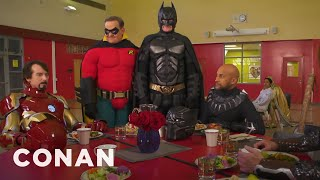 Batman Wants To Join The Marvel Universe  - CONAN on TBS