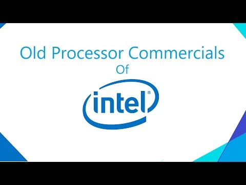 Old Intel Commercials