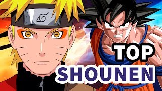 TOP 10 ANIMES SHOUNEN - Ntop