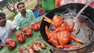KING of Full CHICKEN, FISH Recipe   Amazing Taste   VILLAGE FOOD