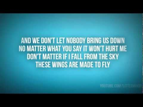 Little Mix - Wings (karaoke) Official Instrumental video