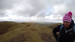 Longlands Fell, Brae Fell, Great Sca Fell, Meal Fell and Great Cockup 22.02.14
