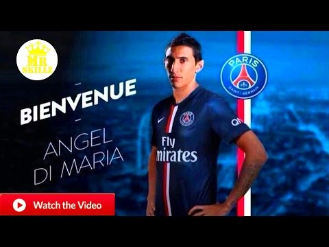 Ángel Di María ● A New Angel in Paris ● Welcome to PSG 2015/16 Goals/Skills/Assists (1080pHD)