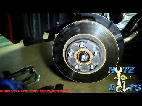 2012-2014 Toyota Camry Front brakes remove and install
