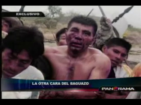 La otra cara del Baguazo