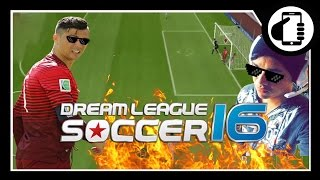 Dream League Soccer 16 - Vencendo o Atlético de Madrid MALANDRAMENTE