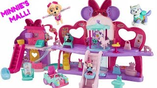 Learn Colors with Minnie Mouse Fabulous Shopping Mall Paw Patrol | Fizzy Fun Toys