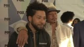 'Empire' star Terrence Howard shows support for Jussie Smollett