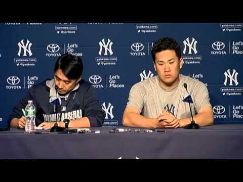 Masahiro Tanaka discusses his performance in Yankees' win over Minnesota Twins