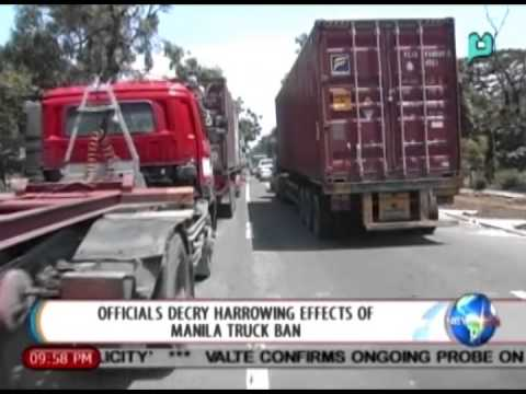 [NewsLife] Officials decry harrowing effects of Manila Truck Ban [08|15|14]