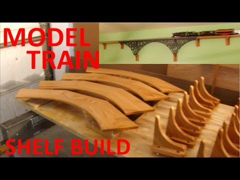Install a Model Train - Shelf Build