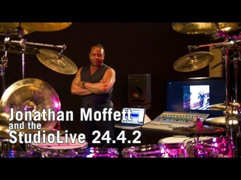 Tuning and Recording Drums with Jonathan Moffett and the PreSonus StudioLive 24.4.2