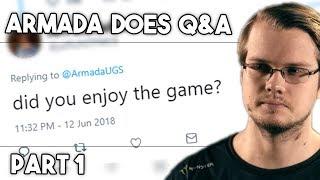 """did i enjoy Smash 5 / Ultimate?"" Q&A with Armada"